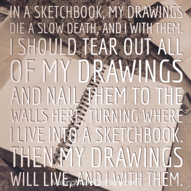 About Those Sketchbooks