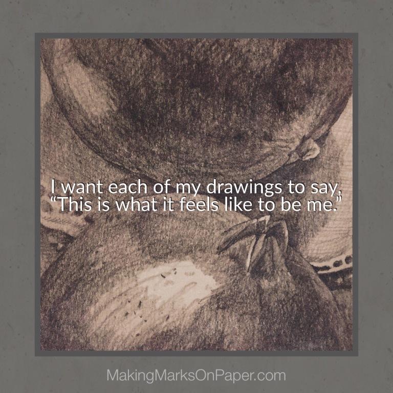 When My Drawings Speak
