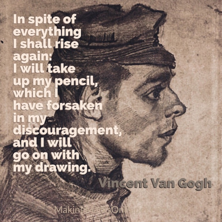 My Forsaken Pencil - Vincent Van Gogh